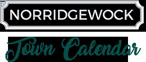 Norridgewock Town Calendar