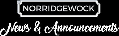 Norridgewock News & Announcements